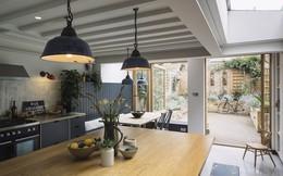 Ngôi nhà ở Luân Đôn sau cải tạo dường như to gấp đôi khiến ai cũng phải nể phục kiến trúc sư