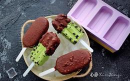 Phải tự làm kem trà xanh ăn rồi mới biết mua kem công nghiệp ăn dở cỡ nào