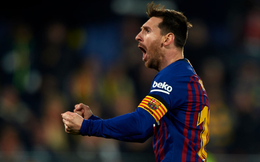 """Messi sút phạt siêu phẩm trong ngày Barca có trận đấu """"điên rồ nhất mùa giải"""""""