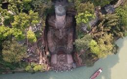 24h qua ảnh: Tượng Phật bằng đá cao nhất thế giới ở Trung Quốc