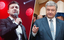 """Nóng cuộc tranh cử Ukraine: Vé xem 2 ông Poroshenko-Zelensky giao đấu bán """"đắt như tôm tươi"""""""