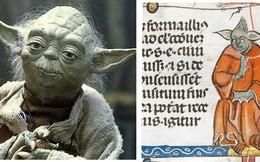 Bất ngờ phát hiện hình vẽ giống hệt Yoda của Star Wars trong bản thảo sách từ thế kỷ 14