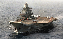 """Động trời: Nga có thể """"xẻ thịt"""" tàu sân bay Kuznetsov duy nhất làm sắt vụn - Lý do khó tin"""