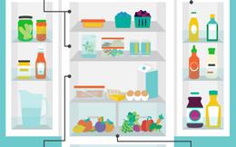 Đây là những mẹo dùng tủ lạnh bạn phải biết nếu không muốn tủ lạnh nhà mình biến thành 'ổ bệnh' gây ung thư