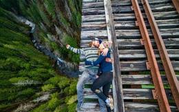 """""""Bủn rủn tay chân"""" trước những bức ảnh không dành cho người sợ độ cao"""