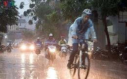Hà Nội và Bắc bộ đêm nay tiếp tục có mưa rào và dông