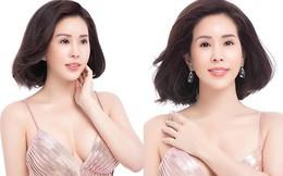 Hoa hậu Thu Hoài khoe mốt tóc ngắn trẻ trung, gu ăn mặc gợi cảm