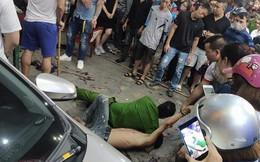 Cảnh sát khống chế nam thanh niên nghi ngáo đá chém trọng thương người đàn ông