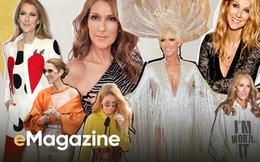 Celine Dion: Sự tái sinh ngoạn mục của tượng đài nhạc Pop, dùng thời trang để làm dịu nỗi đau mất người đàn ông duy nhất của cuộc đời