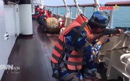 Huấn luyện tàu buồm sát thực tế trên biển