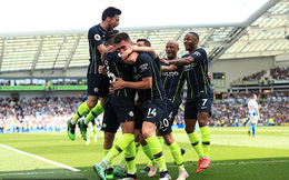 Vòng 38 Premier League 2018/19: Brighton 1-4 Man City