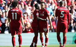 Vòng 38 Premier League 2018/19: Liverpool 2-0 Wolves