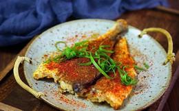 Mát trời làm món cá nướng chảo thơm ngon tuyệt đối