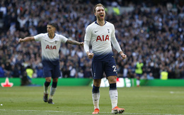 Vòng 38 Premier League 2018/19: Tottenham 2-2 Everton