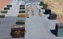 Syria: Điều bất ngờ trong kho vũ khí của khủng bố mới được phát hiện ở Quneitra
