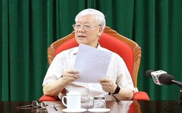 """Tổng Bí thư, Chủ tịch nước Nguyễn Phú Trọng: """"Phải làm tiếp một vài vụ cho ra vụ"""""""