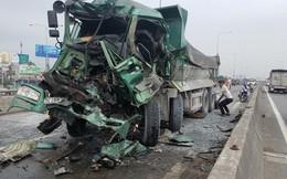 Dùng máy cắt phá ca bin đưa tài xế tử vong trong xe ben ra ngoài ở Sài Gòn