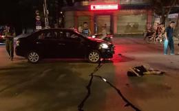 Xế hộp đâm xe đạp điện trong đêm, 2 học sinh nguy kịch