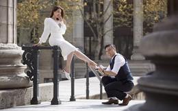 """Đạo diễn """"Cua lại vợ bầu"""" tung ảnh cưới lãng mạn ở Pháp, kể chuyện tình 4 năm với bà xã"""