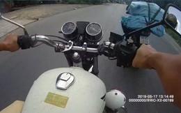 Thiếu tá cảnh sát bị thương khi đuổi theo thanh niên chở thuốc lá lậu trên quốc lộ 30