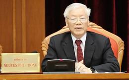 Tổng Bí thư, Chủ tịch nước Nguyễn Phú Trọng phát biểu bế mạc Hội nghị Trung ương