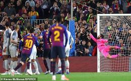 """Huyền thoại Man United """"phát cuồng"""" với siêu phẩm của Messi"""