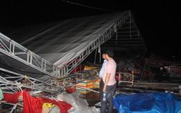 Dông lốc kéo sập hội chợ mua sắm ở Tiền Giang, nhiều người thoát chết trong gang tấc