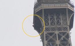 Phát hiện có người leo trèo bên ngoài, Pháp sơ tán khẩn tháp Eiffel