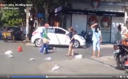 """Chủ shop thời trang đánh cô lao công vì bị nhắc khi xả rác ra đường: """"Tôi không cố ý"""""""
