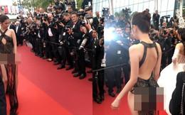 """Khắc Tiệp tung bằng chứng Ngọc Trinh không bị """"ngó lơ"""" tại Cannes"""