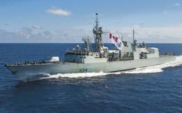 Tàu Hải quân Hoàng gia Canada lần đầu tiên thăm cảng Quốc tế Cam Ranh