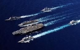 """Cụm tác chiến tàu sân bay Mỹ đủ sức tiêu diệt không quân Iran hay chỉ là """"hổ giấy""""?"""