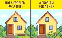 Những mẹo nhỏ khi bạn vắng nhà để tránh kẻ trộm ghé thăm