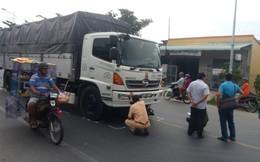 Nam thanh niên chở bắp bị xe tải cán tử vong thương tâm
