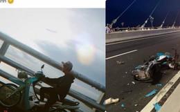 Đăng ảnh trên cầu cùng dòng chia sẻ ẩn ý, thanh niên chạy vào làn ô tô gây tai nạn kinh hoàng
