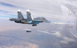 """Chiến đấu cơ Nga-Syria giội """"lửa địa ngục"""" xuống Idlib: Màn ném bom rải thảm khủng khiếp"""