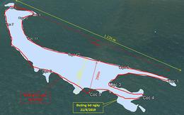 Cồn cát khổng lồ ở biển Cửa Đại đang dịch chuyển