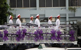 Lễ di quan và an táng nguyên Chủ tịch nước Lê Đức Anh tại TP.HCM