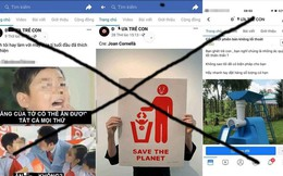 Lại xuất hiện trang facebook có nội dung bài trừ, bạo hành trẻ em