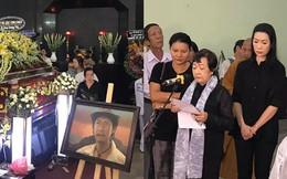 Vợ cũ, con gái, các nghệ sĩ đau đớn đưa tiễn Lê Bình về nơi an nghỉ cuối cùng