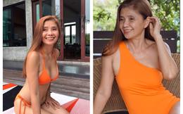 """""""Chị đại U60"""" khoe thân hình nóng bỏng với bikini làm dân mạng chao đảo hôm nay hóa ra là gương mặt thân quen"""