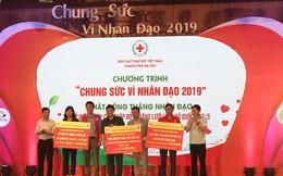 """Hà Nội: Nhận ủng hộ 15,3 tỉ đồng ngay tại Lễ phát động """"tháng nhân đạo"""" năm 2019"""