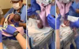Con gái bị tổn thương 1 bên não, mẹ đăng đàn tố hành động vô ý của bác sĩ suýt làm đứa trẻ rơi xuống đất khi vừa chào đời