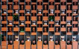 Căn nhà với những mảng tường gạch trần trụi, chẳng giống ai của VN trên báo ngoại