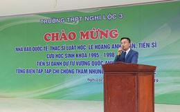 """Hội Luật gia Việt Nam nói về việc """"nhà báo quốc tế"""" Lê Hoàng Anh Tuấn dùng xe biển xanh"""