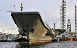 """Tàu sân bay Kuznetsov duy nhất của Hải quân Nga trở về """"từ cõi chết""""!"""