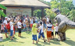Tặng 10.000 vé tham quan công viên khủng long dịp Tết Thiếu nhi