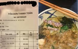 """Scandal lộ clip nóng chưa dứt, quán bánh đa bề bề của hot girl Trâm Anh lại bị khách review: """"Đừng ăn, phí mồm lắm"""""""