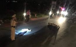 """Trung tá CSGT bị """"quái xế"""" tông trọng thương khi đang làm nhiệm vụ trên quốc lộ"""