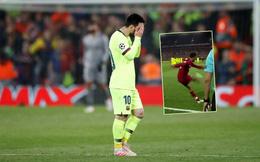 """Cận cảnh quả đá phạt góc """"thiên tài"""" của Liverpool khiến Messi thẫn thờ, uất hận"""